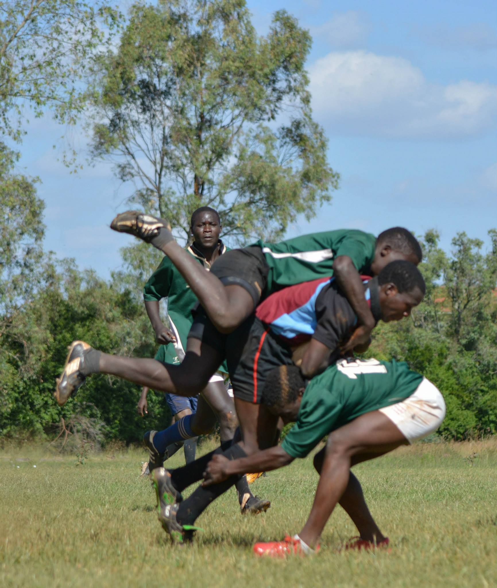 Action from the Monks vs Kakamega (Photo : James Wahome)
