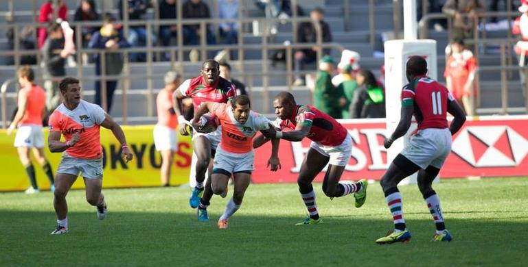Action from the Argentina match (Photo: IRB)