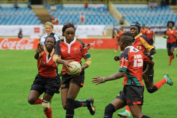 Lionesses in previous Elgon Cup action