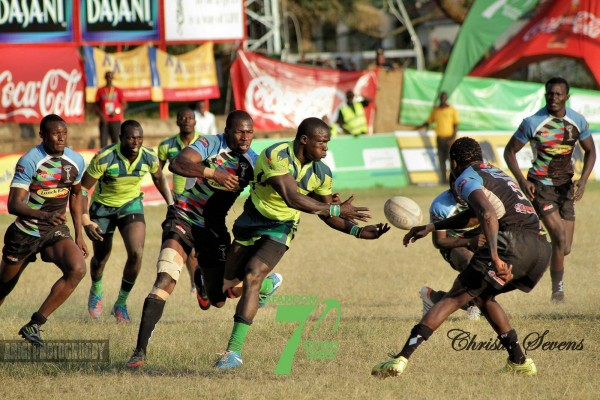 Action from last year's Christie sevens