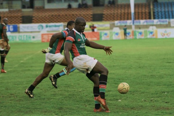 Isaac Adimo in previous Elgon Cup Action