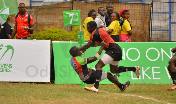 Frans in action against Quins