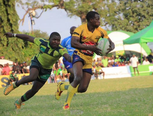 Michael Wanjala in action against KCB (Photo : Mid-Ego Fotography)