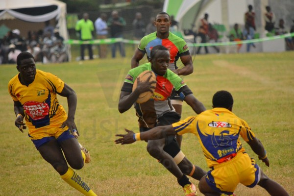 Kevin Keagan on Quins in action against Homeboyz