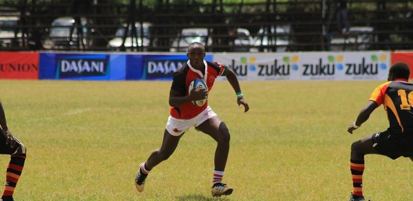 Billy Isabwa in past action for the Chipu (Photo : Ministry Of Rugby)