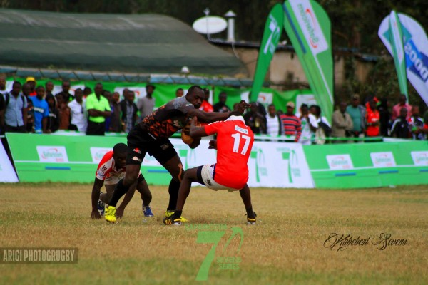 Dan Skuta in action at last year's Kabeberi 7s