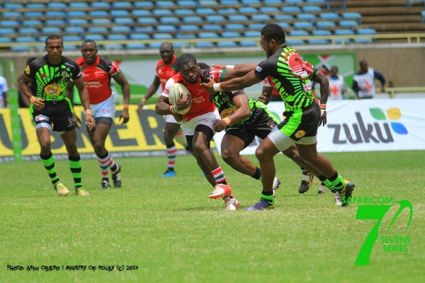 Sam Onsomu in action (Photo - Arigi)