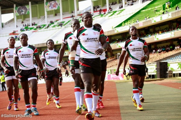 The Shujaa side on their way to pick up the Plate title (Photo - GalleryKhateli)