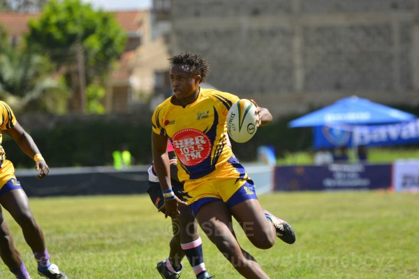 Max Kang'eri in action against Western Bulls