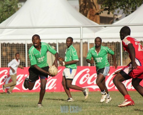 Thika RFC in past action (Photo : Mid-Ego)