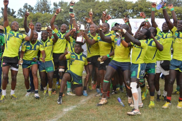 The Lions celebrate their Kenya cup win  (Photo : Mid-Ego Fotography)