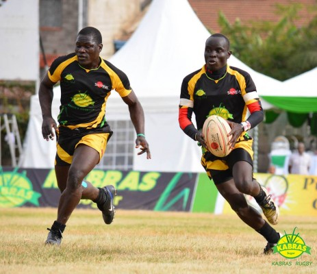 Oscar Okaron in action for Kabras (Photo : Kabras RFC)