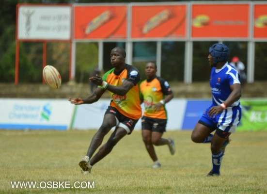 Edwins Makori in past action