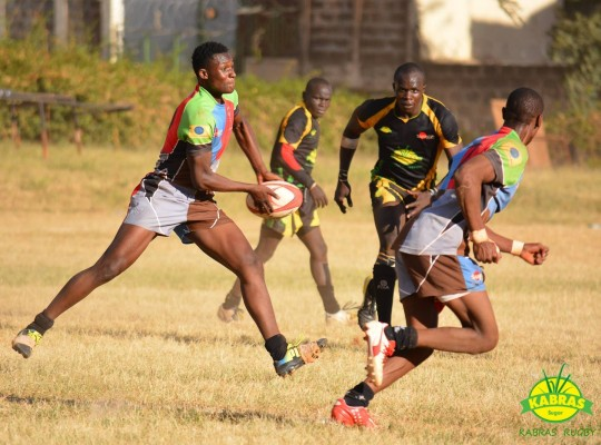 Eden Agero in action (Photo :  Kabras RFC)