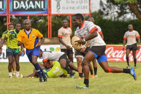 George Okowa in past action against KCB
