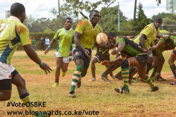 KCB Cubs in action during the quarter final.