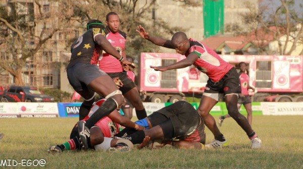 Edwins Makori goes in for the turnover last year  (Photo : Mid-Ego Fotography)