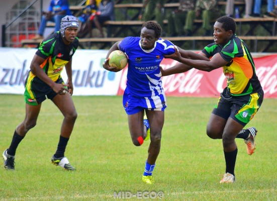 Tony Onyango in action for the Leos
