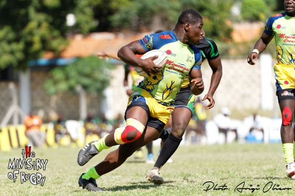 Joshua Chisanga lining up an attack for the Djs (Photo : MoR)