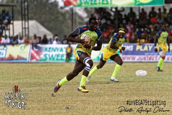 Oscar Ayodi lining up an attack for the Homeboyz  (Photo : MoR)