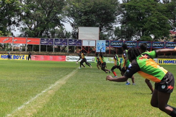 Nakuru Ladies in action at this year's Titan's cup (Photo : Mid-ego Fotography)