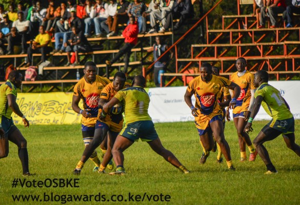 Previous action from KCB vs Homeboyz