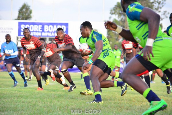 Action from when KCB last played Impala at Floodies.