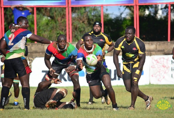 Action from the last time Quins played Kabras at RFUEA (Photo : Kabras)
