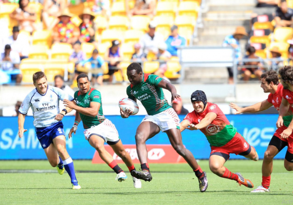 Billy 'the kid' Odhiambo (Photo : World Rugby)