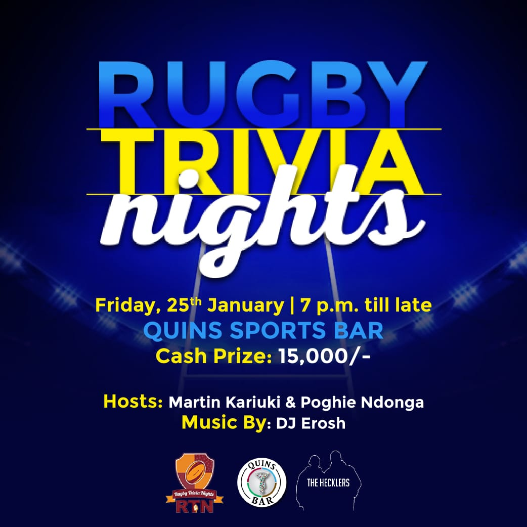 Rugby Trivia Nights